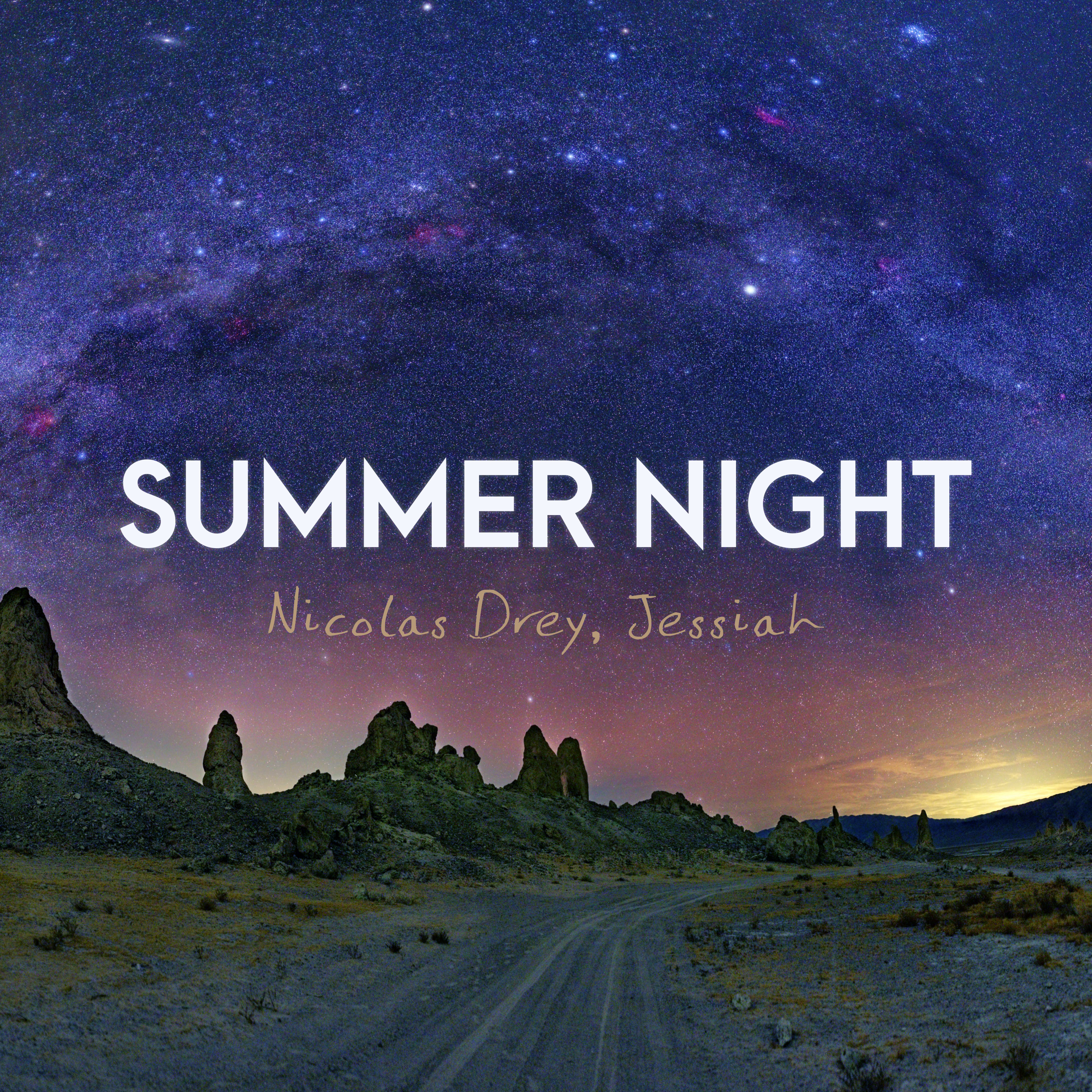 Sumer Night, Nicolas Drey-Jessiah - Artwork